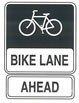 Bike Lane Ahead