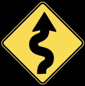 camino curvo