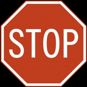 senal de stop